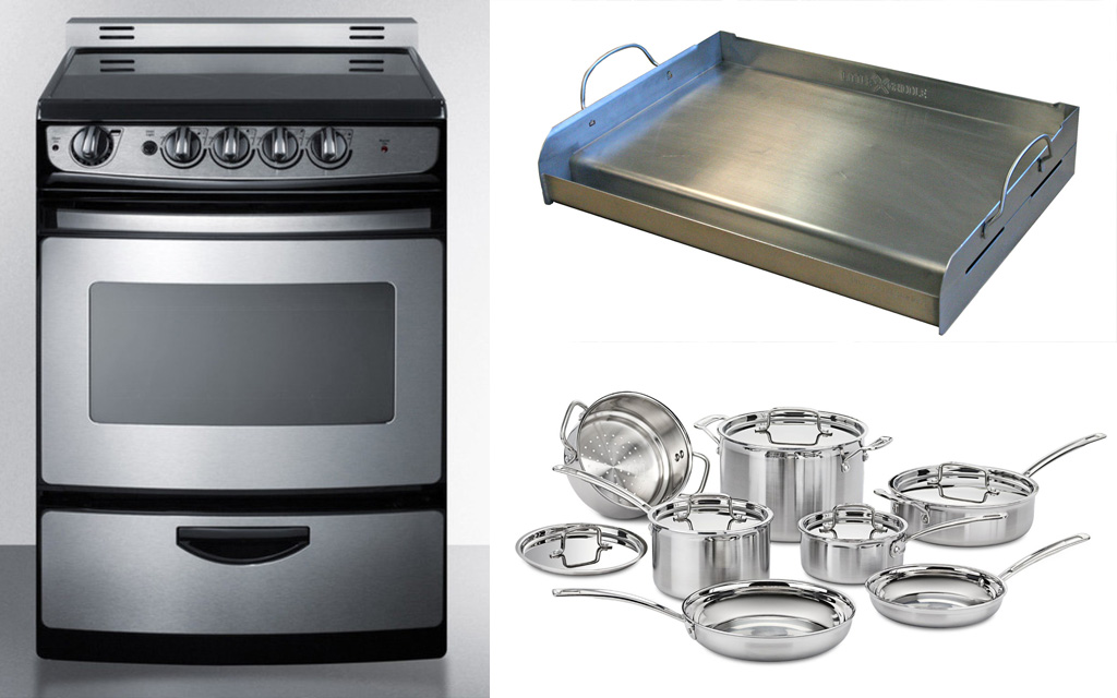 Stainless steel Primary materials